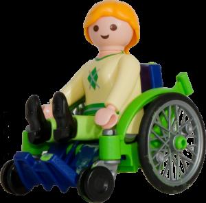green-wheelchair