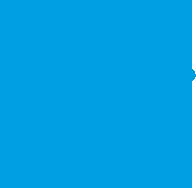 scroll down blue